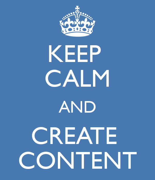 keep calm and create content 29 comprendia comprendia