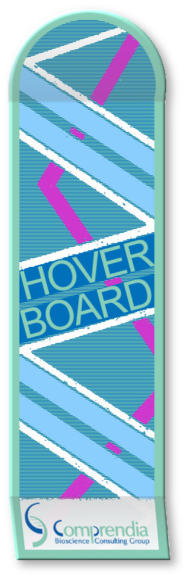 Life Science Social Media Hover Board