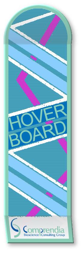Life Science Social Media Hover Board